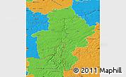 Political Map of Namur
