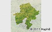 Satellite Map of Namur, lighten