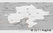 Gray Panoramic Map of Namur