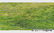 Satellite Panoramic Map of Namur