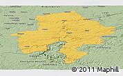 Savanna Style Panoramic Map of Namur