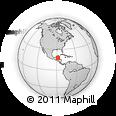 Outline Map of Belize