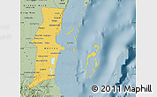 Savanna Style Map of Belize