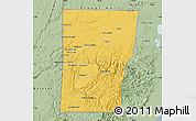 Savanna Style Map of Cayo