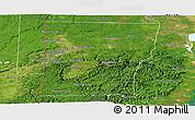 Satellite Panoramic Map of Cayo