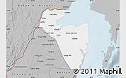 Gray Map of Corozal