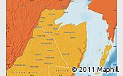 Political Map of Corozal