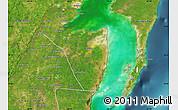 Satellite Map of Corozal