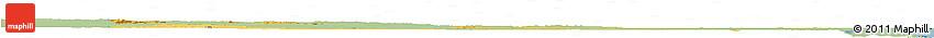 Savanna Style Horizon Map of Orange Walk, single color outside