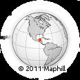 Outline Map of Orange Walk