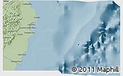 Savanna Style 3D Map of Isla