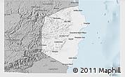 Gray 3D Map of Stann Creek