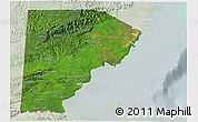Satellite 3D Map of Toledo, lighten
