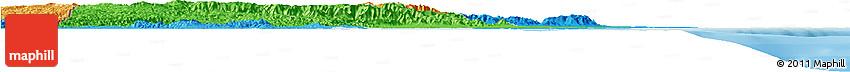 Political Shades Horizon Map of Toledo