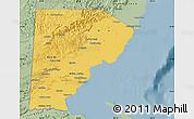 Savanna Style Map of Toledo