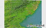 Satellite 3D Map of Toledo