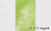Physical 3D Map of Atakora