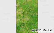 Satellite 3D Map of Atakora