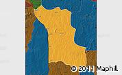 Political Map of Bassila, darken