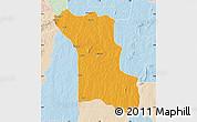 Political Map of Bassila, lighten