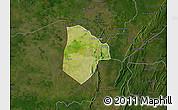Satellite Map of Cobli, darken