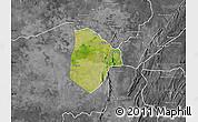Satellite Map of Cobli, desaturated