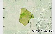 Satellite Map of Cobli, lighten