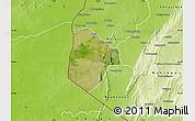 Satellite Map of Cobli, physical outside