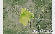 Satellite Map of Cobli, semi-desaturated