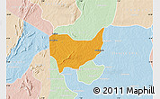 Political Map of Copargo, lighten