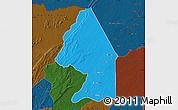 Political Map of Kerou, darken