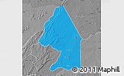 Political Map of Kerou, desaturated