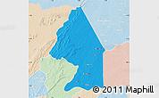 Political Map of Kerou, lighten