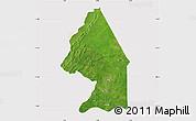 Satellite Map of Kerou, cropped outside