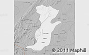 Gray 3D Map of Kouande