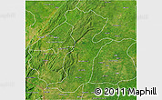 Satellite 3D Map of Kouande