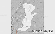 Gray Map of Kouande