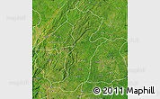 Satellite Map of Kouande