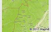 Physical Map of Materi