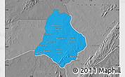 Political Map of Materi, desaturated
