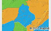 Political Map of Materi
