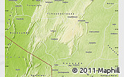 Physical Map of Natingou