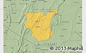 Savanna Style Map of Natingou
