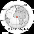 Outline Map of Atakora