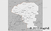 Gray Panoramic Map of Atakora