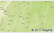 Physical 3D Map of Pehonko