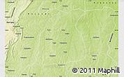 Physical Map of Pehonko