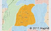 Political Map of Pehonko, lighten