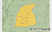 Savanna Style Map of Pehonko