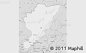 Silver Style Map of Tanguieta